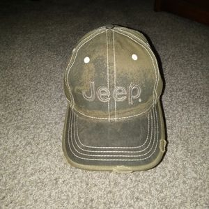 Brand new only tag is hang tag distressed jeep hat